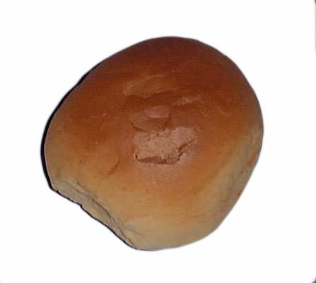 br016 Bread Roll Crusty