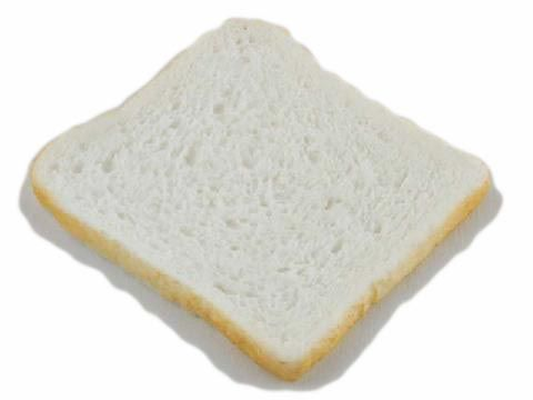 Replica White Bread Slice