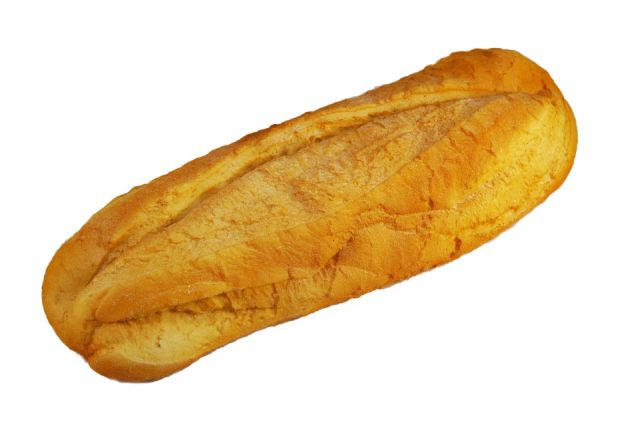 br089 Long Loaf Ciabatta White
