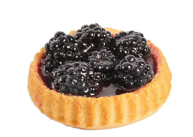 ca037 Fruit Flan Blackberry Small