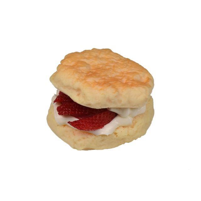 ca095 Scone with Strawberry & Cream