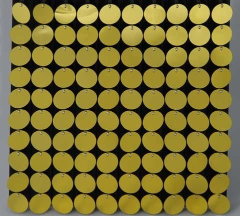 dwad1602 Disk Wall panel assembled with 100 disks colour d1602