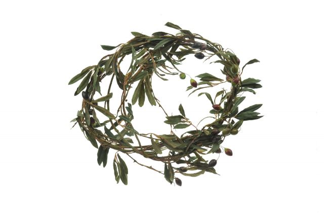 ga039 Olive vine garland 6ft