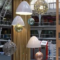 Metal spinning light shades by Replica