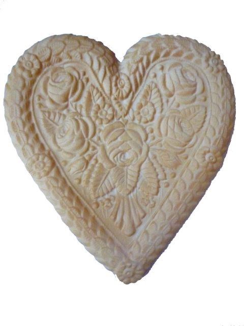 bi032 Heart Biscuit Large