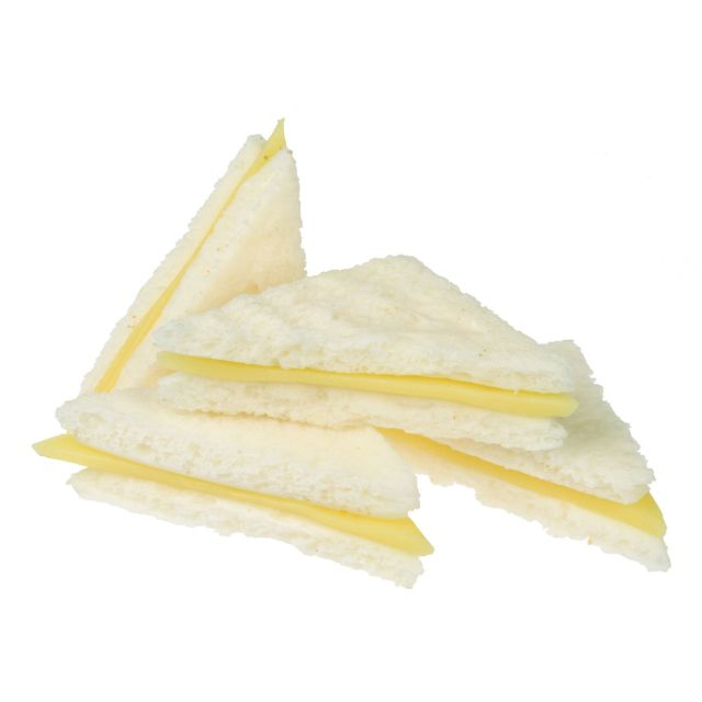 sa014 Reception Sandwich Cheese (White)