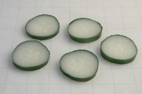 vp006 Cucumber Slice x 5